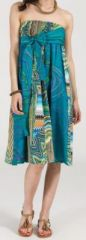 Jupe longue 2en1 transformable en robe-bustier Sarani n2 271389