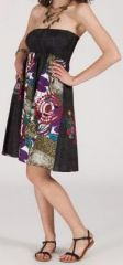 Jupe longue 2en1 transformable en robe-bustier Sarani n3 271392