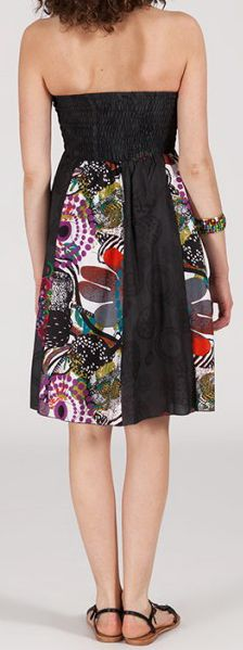 Jupe longue 2en1 transformable en robe-bustier Sarani n3