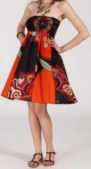 Jupe longue 2en1 transformable en robe-bustier Sarani n4 271396
