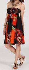 Jupe longue 2en1 transformable en robe-bustier Sarani n4 271399