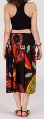 Jupe longue 2en1 transformable en robe-bustier Sarani n4 271400