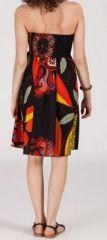 Jupe longue 2en1 transformable en robe-bustier Sarani n4