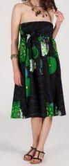 Jupe longue 2en1 transformable en robe-bustier Sarani n5 271402