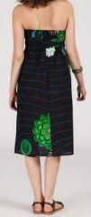Jupe longue 2en1 transformable en robe-bustier Sarani n5 271404