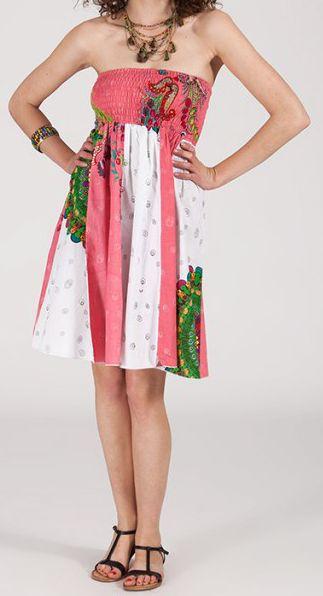Jupe longue 2en1 transformable en robe-bustier Sarani n6 271406