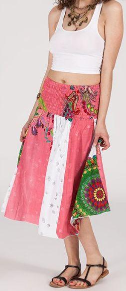 Jupe longue 2en1 transformable en robe-bustier Sarani n6 271407