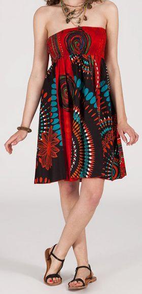 Jupe longue 2en1 transformable en robe-bustier Sarani n7 271411