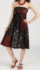 Jupe longue 2en1 transformable en robe-bustier Sarani n8 271416