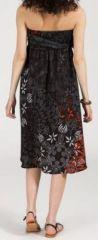 Jupe longue 2en1 transformable en robe-bustier Sarani n8 271417