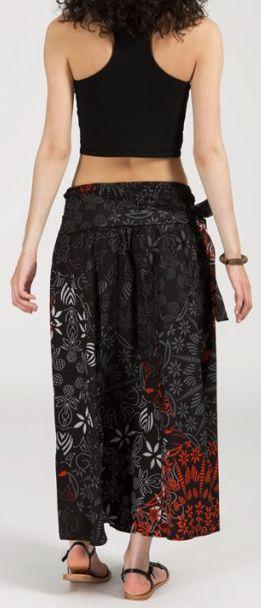Jupe longue 2en1 transformable en robe-bustier Sarani n8