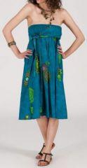 Jupe longue 2en1 transformable en robe-bustier Sarani n9 271420