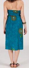 Jupe longue 2en1 transformable en robe-bustier Sarani n9 271421