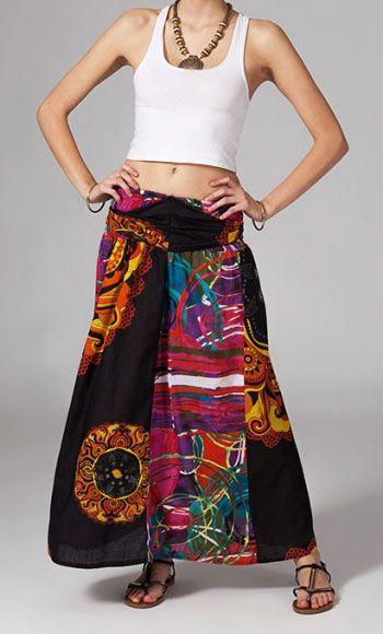 Jupe longue 2en1 transformable en robe-bustier Verona 269237
