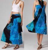 Jupe longue 2en1 transformable en robe ethnique Aina 269241
