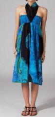 Jupe longue 2en1 transformable en robe ethnique Aina 269245