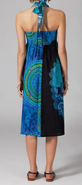 Jupe longue 2en1 transformable en robe ethnique Aina 269247