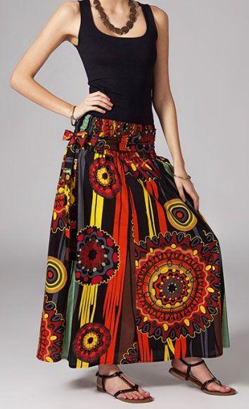 Jupe longue 2en1 transformable en robe Flavie 269300