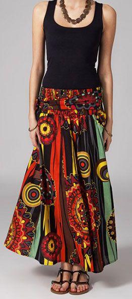 Jupe longue 2en1 transformable en robe Flavie 269302