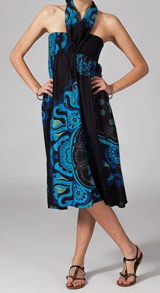 Jupe longue 2en1 transformable en robe Nabine 269265