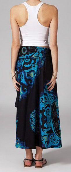 Jupe longue 2en1 transformable en robe Nabine 269268