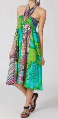 Jupe longue 2en1 transformable en robe Nana 281098