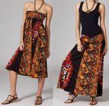 Jupe longue 2en1 transformable en robe originale Avy 269256