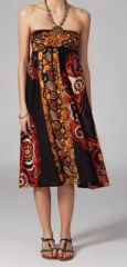 Jupe longue 2en1 transformable en robe originale Avy 269260
