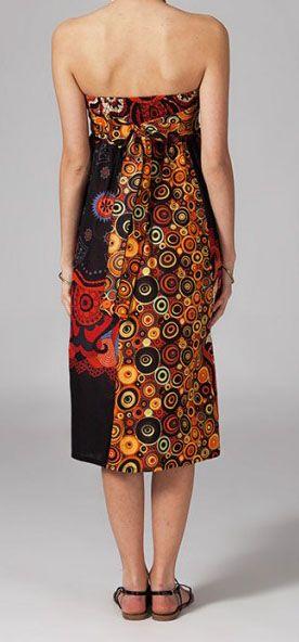 Jupe longue 2en1 transformable en robe originale Avy 269261