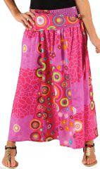 Jupe longue 2en1 transformable en robe Rose Originale Gwental 285987