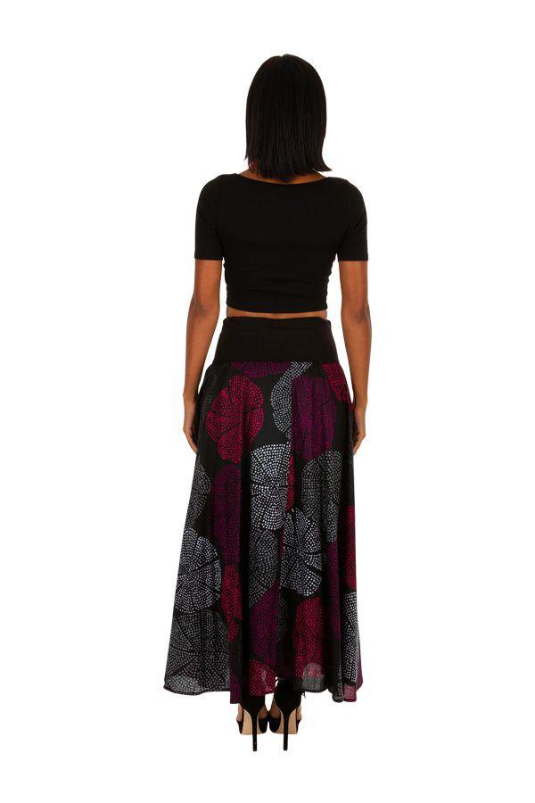 Jupe longue à pois colorés pour un style original Valou 305638