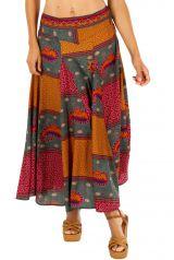 Jupe longue africaine pour un look bohème hippie tendance Léa 305846