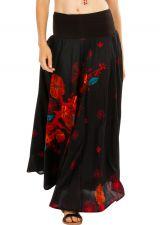 Jupe longue bohème avec un joli imprimé à fleurs Danielle 305642