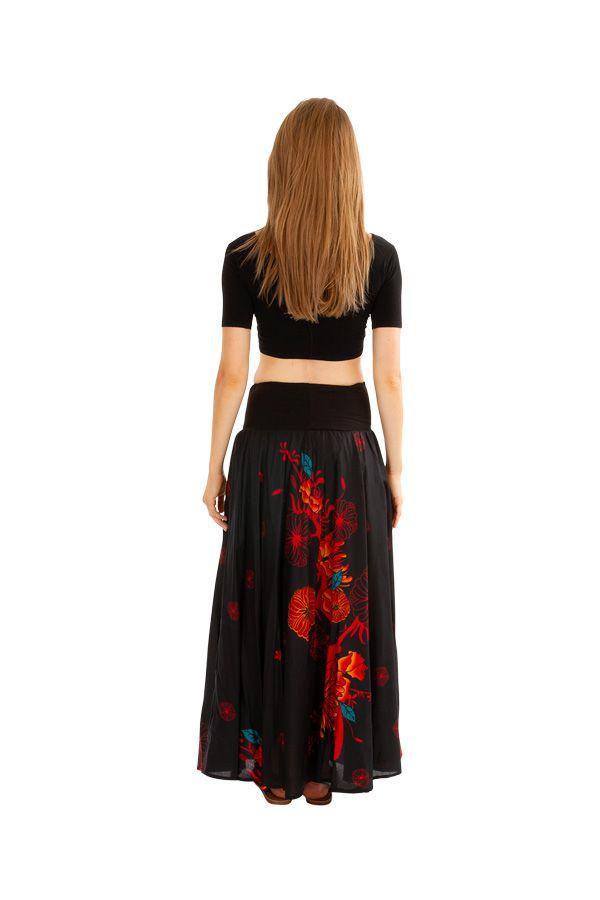 Jupe longue bohème avec un joli imprimé à fleurs Danielle 305644