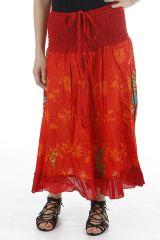 Jupe longue bohème en coton légère et originale Lucia 310662