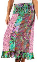 Jupe longue Colorée et Imprimée Tiara 285995