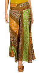 Jupe longue ethnique d'Inde très colorée et vive Astemia 310119