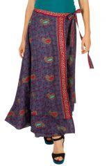 Jupe longue ethnique et imprimée pour femme Yolanda 310161
