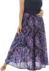 Jupe longue femme grande taille ethnique Sabrina 291879