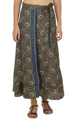 Jupe longue femme mode portefeuille style gypsie Tracie