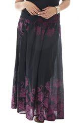 Jupe longue grande taille colorée et originale Sabrina 293629