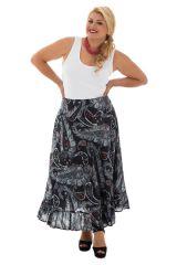 Jupe longue grande taille colorée pour l' été Ashley 289950