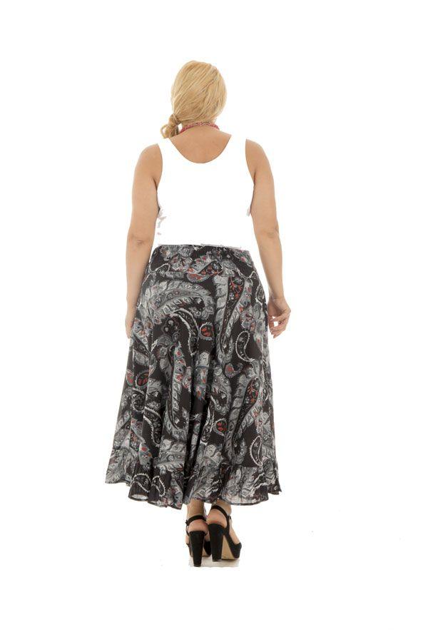 Jupe longue grande taille colorée pour l' été Ashley 289951
