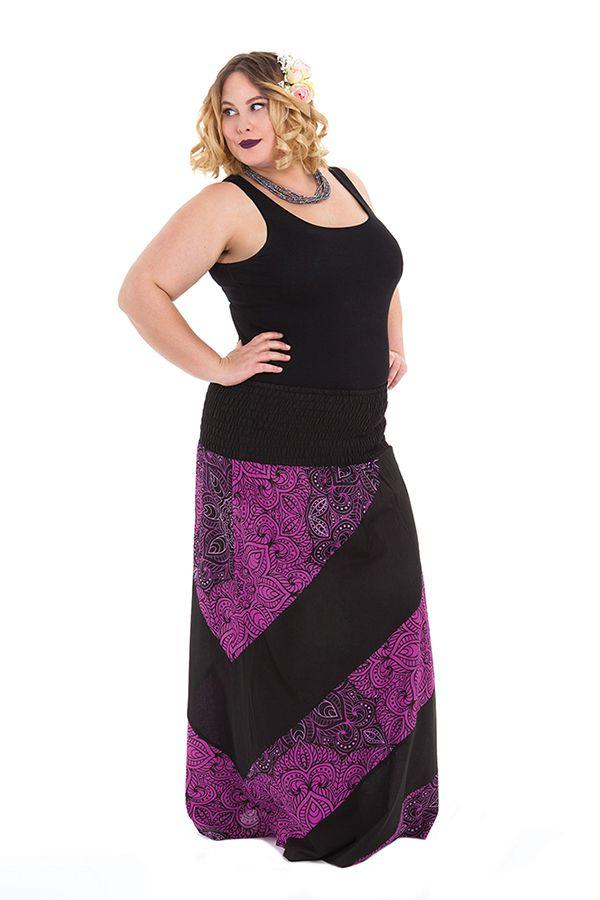 jupe longue grande taille femme ilona. Black Bedroom Furniture Sets. Home Design Ideas
