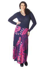 Jupe longue Originale et Colorée Rosita pour Femme Ronde 286076