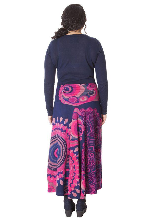 Jupe longue Originale et Colorée Rosita pour Femme Ronde 286077