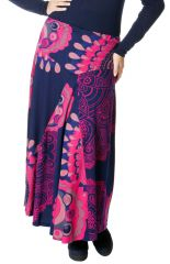 Jupe longue Originale et Colorée Rosita pour Femme Ronde 286795