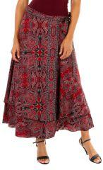 Jupe longue pour femme ethnique et imprimée Lolita 313003