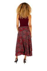 Jupe longue pour femme ethnique et imprimée Lolita 313005