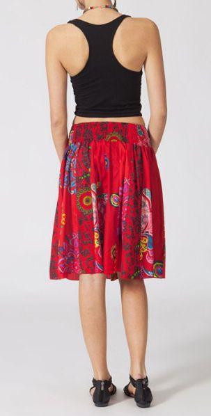 Jupe mi-longue colorée Valérie N1 268124